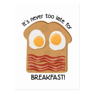 Breakfast! Postcard