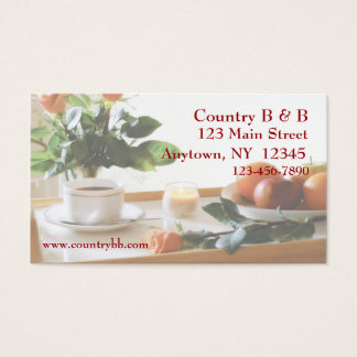 Breakfast Tray Business Card