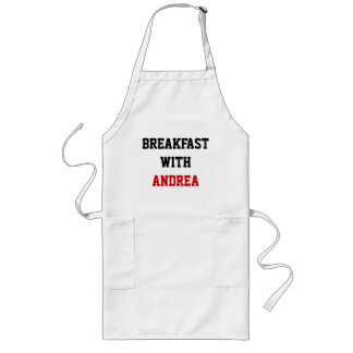 Breakfast with Andrea Long Apron