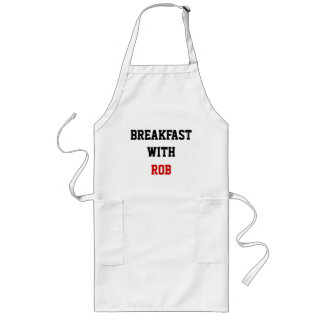 BREAKFAST WITH, ROB LONG APRON
