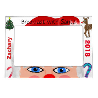 Breakfast with Santa Magnetic Photo Frames