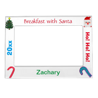 Breakfast with Santa NAME Picture Frames