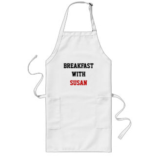 BREAKFAST WITH, SUSAN LONG APRON