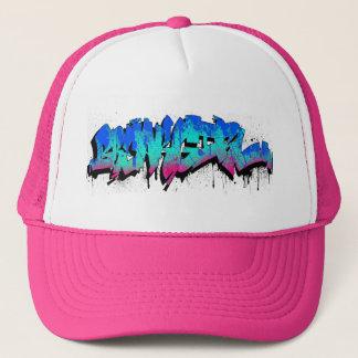 Breakgirl_TruckerCap_blueturq Trucker Hat