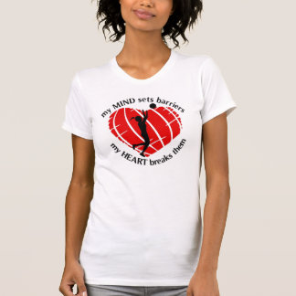 BREAKING BARRIERS GILS BASKETBALL PLAYER PETITE T T-Shirt