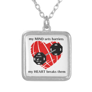 Breaking Barriers Powerlifting Necklace