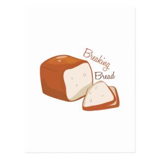 Breaking Bread Postcard