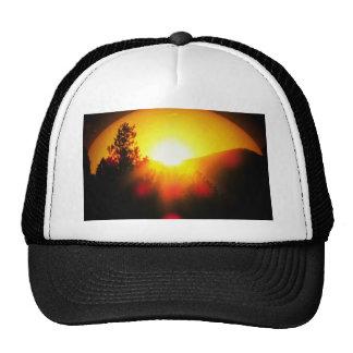 Breaking Dawn Orange Sunrise Cap
