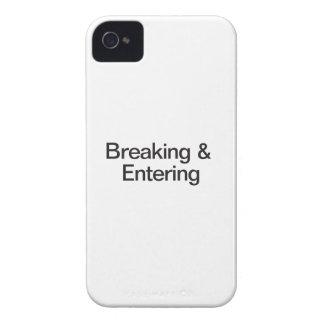 Breaking & Entering iPhone 4 Case-Mate Case