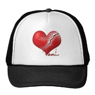 Breaking Heart Mesh Hat