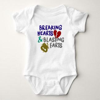 Breaking Hearts Blasting Farts Bodysuit
