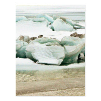 Breaking Ice Post Card