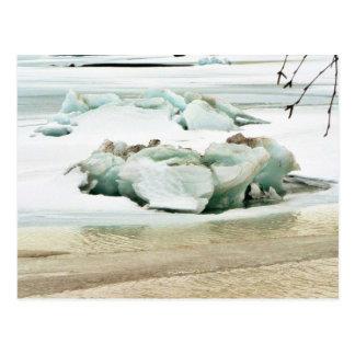 Breaking Ice Postcard