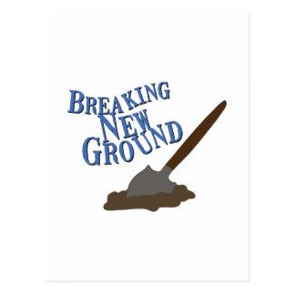 Breaking New Ground Postcard