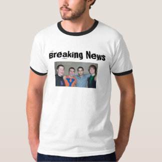 Breaking News Band T-Shirt
