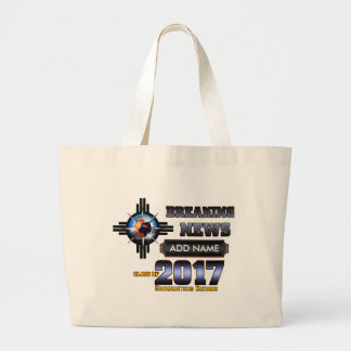 Breaking News Class Of 2017 Large Tote Bag