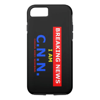 Breaking News: I am Curious Nosey Neighbour (UK) iPhone 8/7 Case