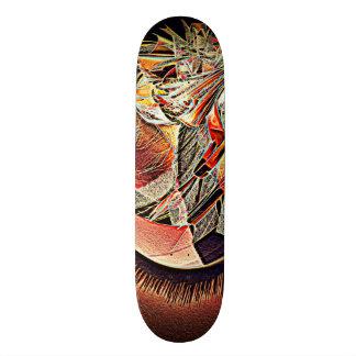 Breaking Out - Glow 21.3 Cm Mini Skateboard Deck
