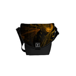 Breaking Point Abstract Art Mini Bag Courier Bags