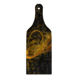Breaking Point Abstract Art Paddle Cutting Board