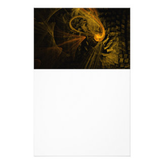 Breaking Point Abstract Art Stationery