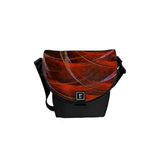 Breaking the Circle Abstract Art Mini Bag Messenger Bag