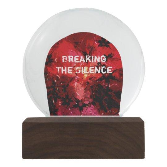 Breaking The Silence 777 Snow Globe