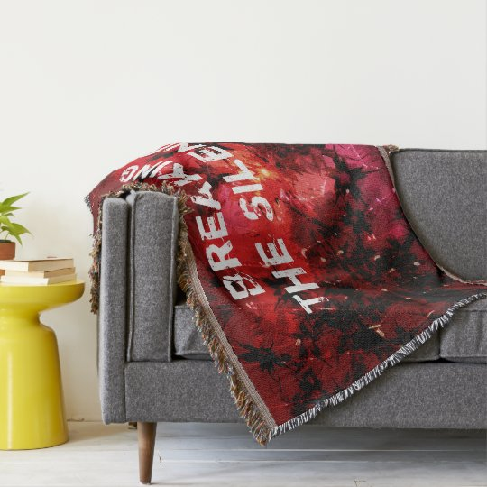 Breaking The Silence 777 Throw Blanket