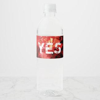 Breaking The Silence 777 Water Bottle Label