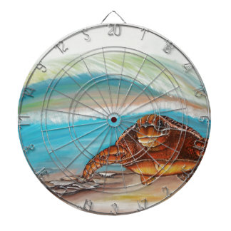 Breaking the Water's Crest Sea Turtle Dartboard