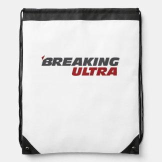 Breaking Ultra Drawstring Bag