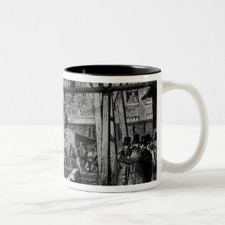 Breaking up Big Ben Two-Tone Coffee Mug