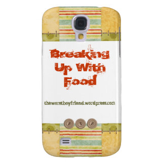 Breaking Up With Food iPhone Case Samsung Galaxy S4 Case