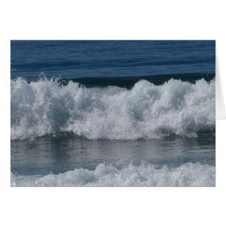 Breaking Waves Note Card