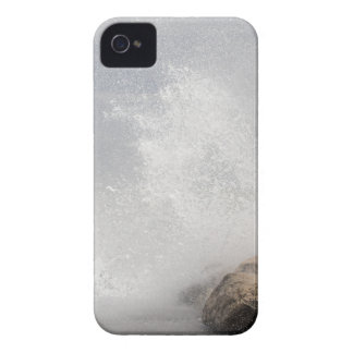 Breaking waves on rocks on the Adriatic Sea. iPhone 4 Cover