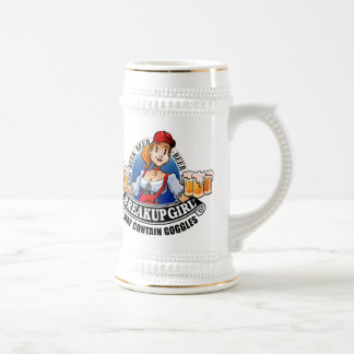 Breakup Girl Beer Stein (*May Contain Goggles) Beer Steins