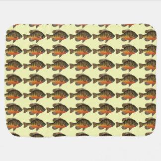 Bream, Bluegill Fishing Baby Blanket