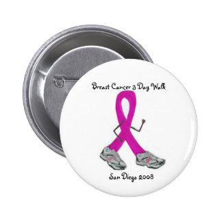 Breast Cancer 3 Day - Customized 6 Cm Round Badge