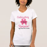 Breast Cancer 4 Year Remission T-shirts