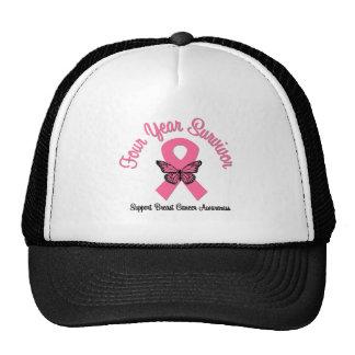 Breast Cancer 4 Year Survivor Hat