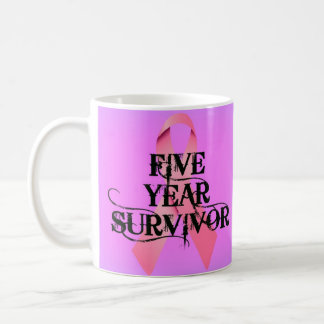 Breast Cancer 5 Year Survivor Coffee Mug