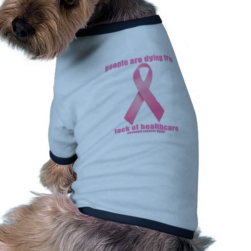 Breast Cancer and HealthCare Doggie T Shirt