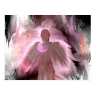 Breast Cancer Angel Postcard