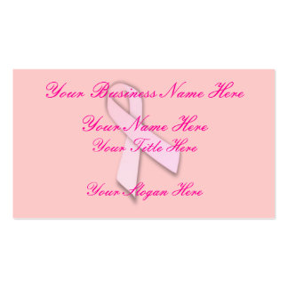 Breast Cancer Awareness (1) Business Card Templates