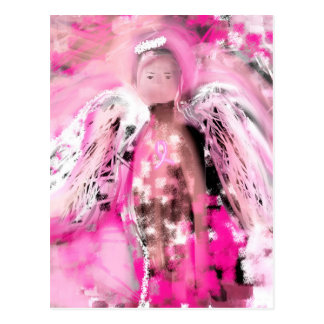 Breast Cancer Awareness Angel #2 Post Card