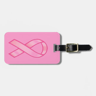 Breast Cancer Awareness Bag Tag