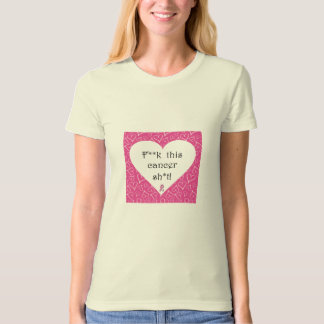 Breast Cancer Awareness - Cancer is Rude Organic T T Shirt