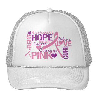 Breast Cancer Awareness Trucker Hats
