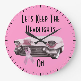 Breast Cancer Awareness Clocks