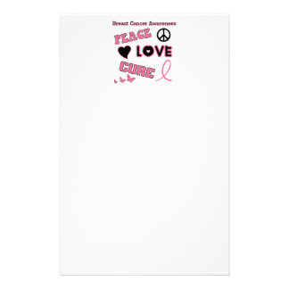 Breast Cancer Awareness Customized Stationery